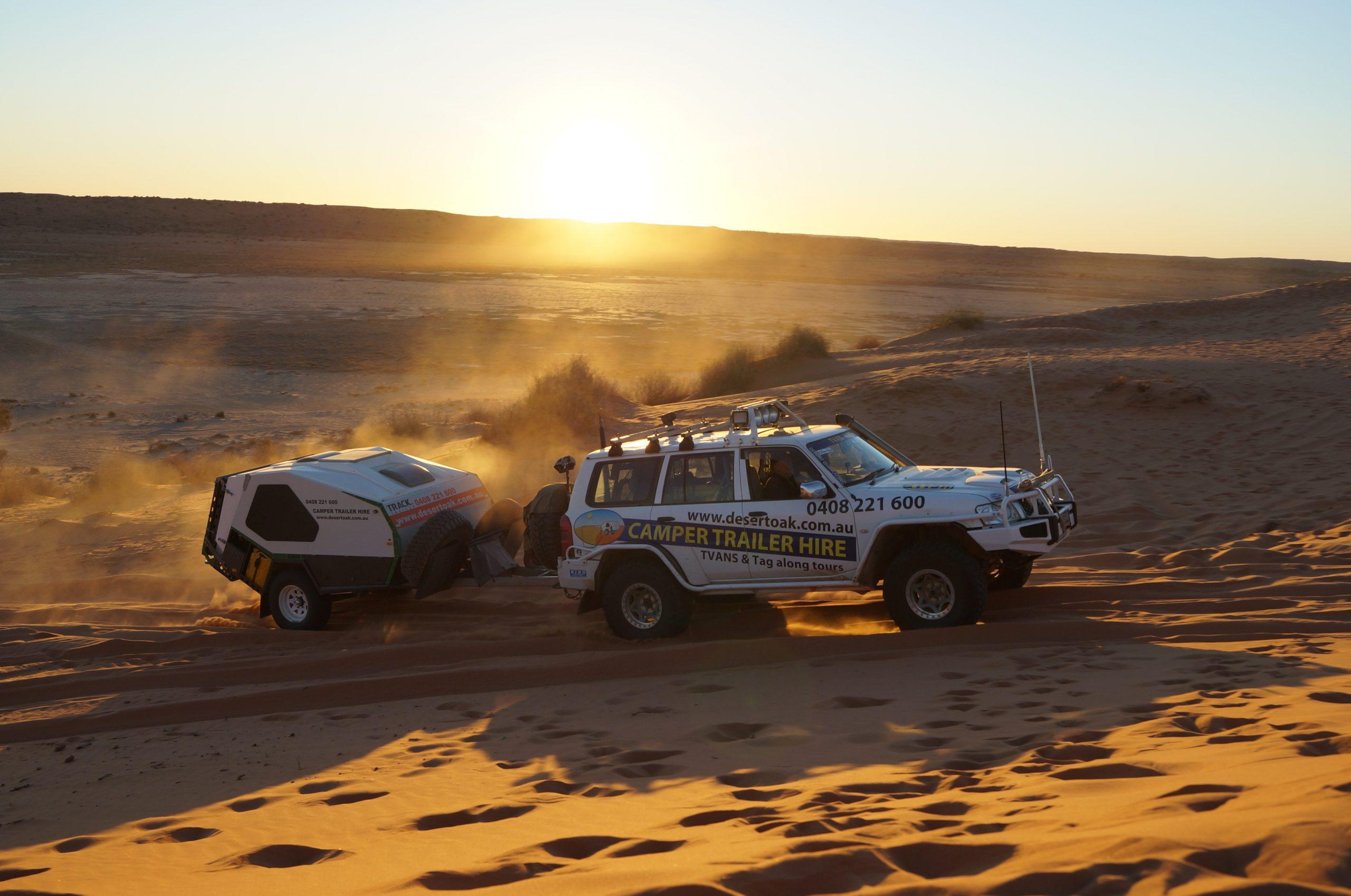The Birdsville Track & Simpson Desert with Desert Oak